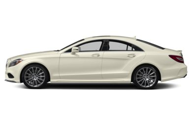90 Degree Profile 2017 Mercedes-Benz CLS550
