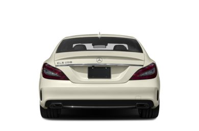Rear Profile  2017 Mercedes-Benz CLS550