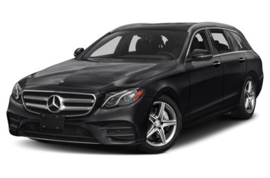 3/4 Front Glamour 2017 Mercedes-Benz E400