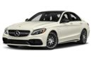3/4 Front Glamour 2017 Mercedes-Benz C63 AMG