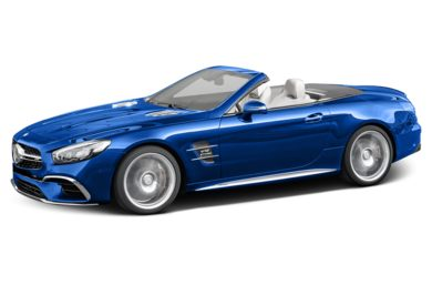 3/4 Front Glamour 2017 Mercedes-Benz SL65 AMG