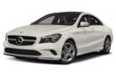 3/4 Front Glamour 2017 Mercedes-Benz CLA250