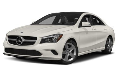 3/4 Front Glamour 2018 Mercedes-Benz CLA-Class