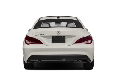 Rear Profile  2017 Mercedes-Benz CLA250