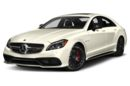 3/4 Front Glamour 2017 Mercedes-Benz CLS63 AMG