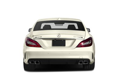 Rear Profile  2017 Mercedes-Benz CLS63 AMG