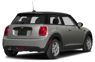 3/4 Rear Glamour  2018 MINI Hardtop