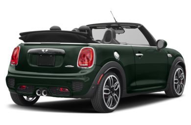 3/4 Rear Glamour  2017 MINI Convertible