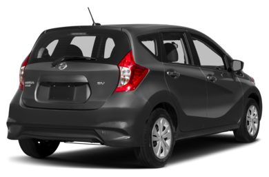 3/4 Rear Glamour  2017 Nissan Versa Note
