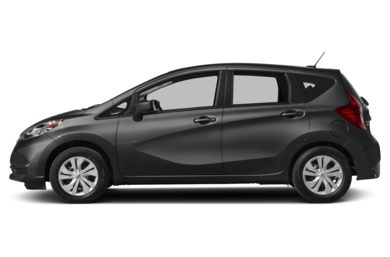 90 Degree Profile 2017 Nissan Versa Note