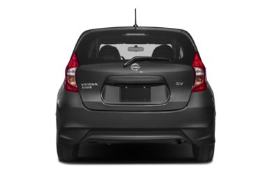 Rear Profile  2017 Nissan Versa Note