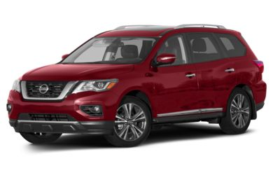 3/4 Front Glamour 2017 Nissan Pathfinder