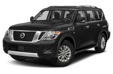 3/4 Front Glamour 2017 Nissan Armada