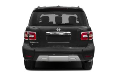 Rear Profile  2018 Nissan Armada