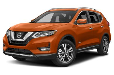 3/4 Front Glamour 2017 Nissan Rogue Hybrid