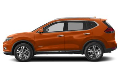 90 Degree Profile 2017 Nissan Rogue Hybrid