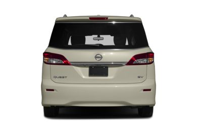 Rear Profile  2016 Nissan Quest