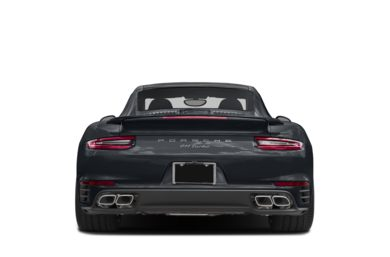 Rear Profile  2017 Porsche 911