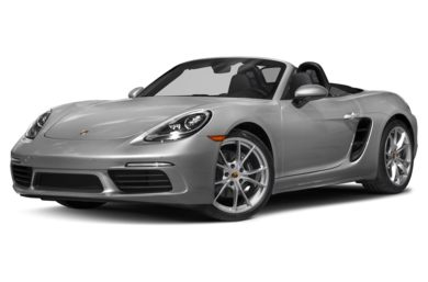 3/4 Front Glamour 2018 Porsche 718 Boxster
