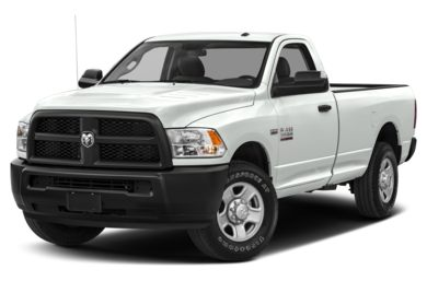 3/4 Front Glamour 2018 RAM 2500