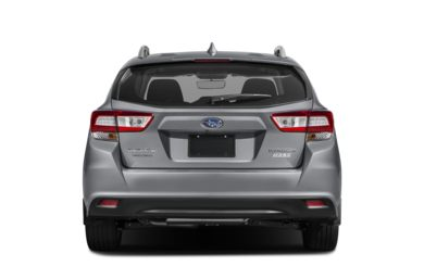Rear Profile  2017 Subaru Impreza
