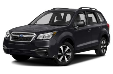 3/4 Front Glamour 2018 Subaru Forester