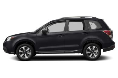90 Degree Profile 2017 Subaru Forester