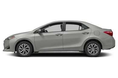 90 Degree Profile 2017 Toyota Corolla