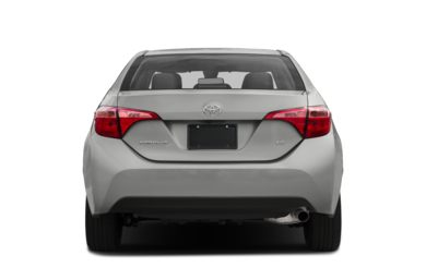Rear Profile  2017 Toyota Corolla