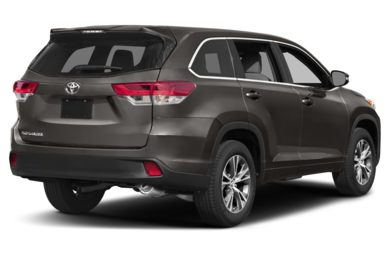 3/4 Rear Glamour  2018 Toyota Highlander