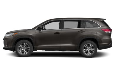 90 Degree Profile 2018 Toyota Highlander
