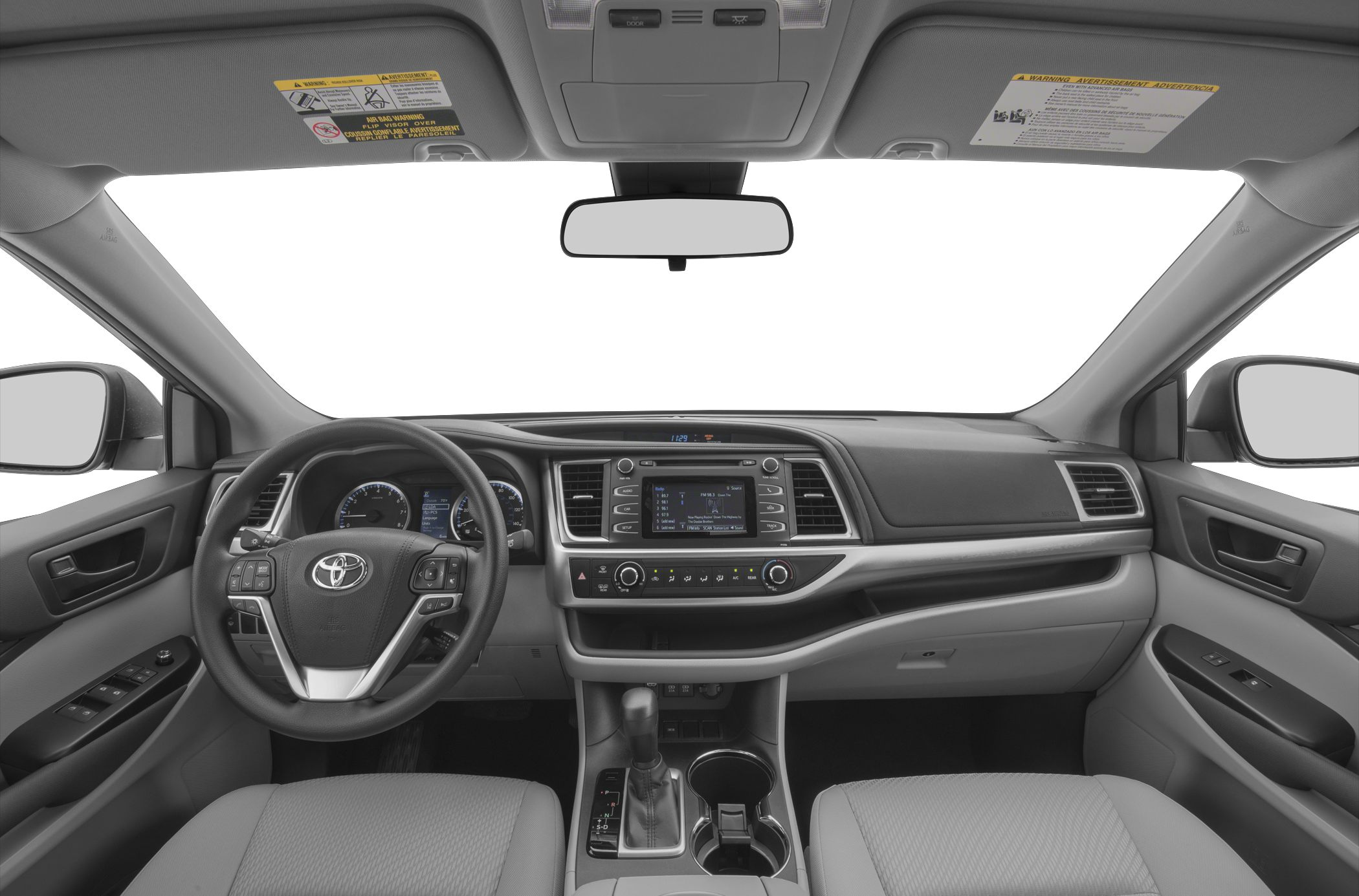 2018 highlander le interior