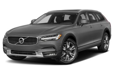 3/4 Front Glamour 2018 Volvo V90 Cross Country