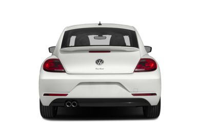 Rear Profile  2017 Volkswagen Beetle