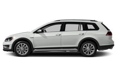 90 Degree Profile 2017 Volkswagen Golf Alltrack