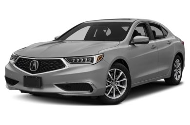 3/4 Front Glamour 2018 Acura TLX