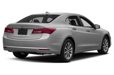 3/4 Rear Glamour  2018 Acura TLX
