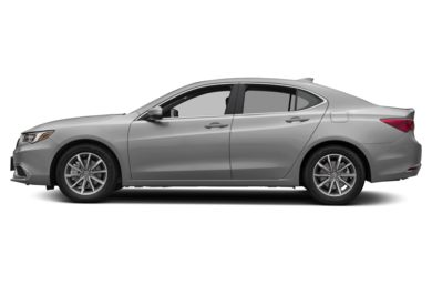 90 Degree Profile 2018 Acura TLX