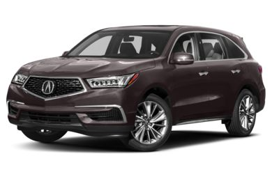 3/4 Front Glamour 2018 Acura MDX