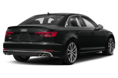 3/4 Rear Glamour  2018 Audi S4