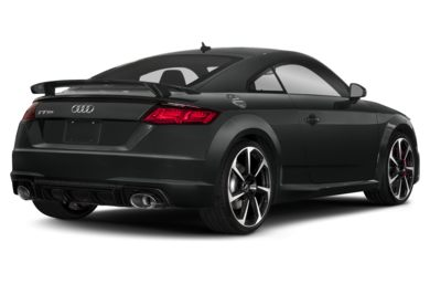 3/4 Rear Glamour  2018 Audi TT RS