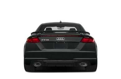 Rear Profile  2018 Audi TT RS