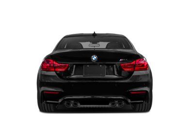 Rear Profile  2018 BMW M4