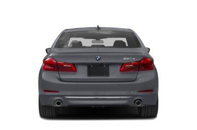 Rear Profile  2018 BMW 530e