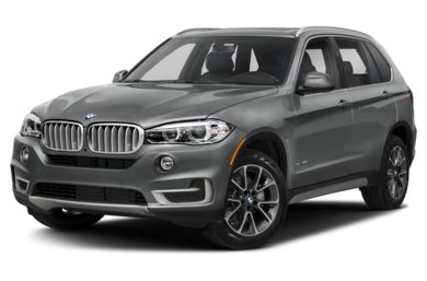 3/4 Front Glamour 2018 BMW X5