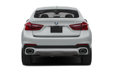 Rear Profile  2018 BMW X6