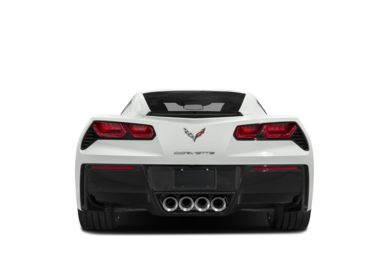 Rear Profile  2018 Chevrolet Corvette