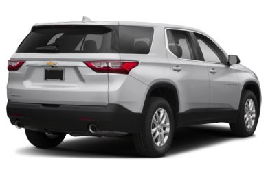 3/4 Rear Glamour  2018 Chevrolet Traverse