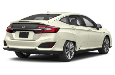 3/4 Rear Glamour  2018 Honda Clarity Plug-In Hybrid