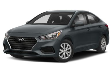 3/4 Front Glamour 2018 Hyundai Accent